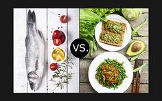 Selbsttest - New Nordic versus Vegan: Die ELLE-Redakteurinnen Anna und Kathrin stellen sich der Ernährungs-Herausforderung.