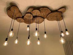 Home Interior Design, Interior Decorating, Decorating Ideas, Deco Luminaire, Wooden Chandelier, Wood Lamps, Foyer Chandelier, Chandelier Ideas, Diy Casa