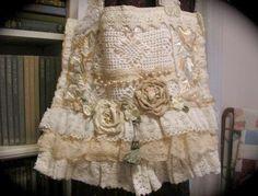 Ahh > Romantic Cottage Style Apron #marvelous