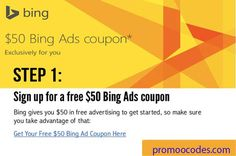 Free $50 in BingAds credits for New Zealand Users this is the biggest deals for small business users. here is available many offers of Bing Ads and country wise offers is available here.