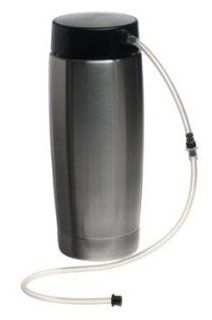 Jura Stainless-Steel 20-Ounce Milk Container with Lid 65381