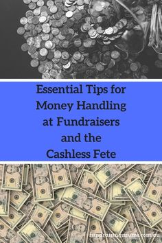 Essential Tips for Money Handling at Fundraisers and the Cashless Fete by Fundraising Mums Fundraisers, Fundraising Events, Fundraising Ideas, Make It Simple, Handle, How To Plan, Money, Motivation, Website