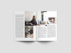 A4 Magazine Psd Mockup