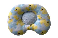 Original  ErgoPillow Ergonomic Baby Support Pillow by LazyLambert, $18.90 Helps prevent/ correct flat head syndrome (Plagiocephaly) Handmade in the USA!