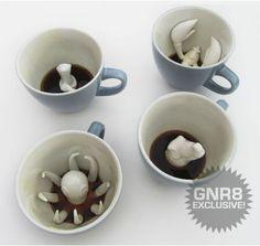 Hidden Creature Cups