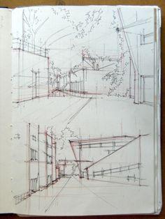 Desenho 2 - FAUP: Diário Gráfico