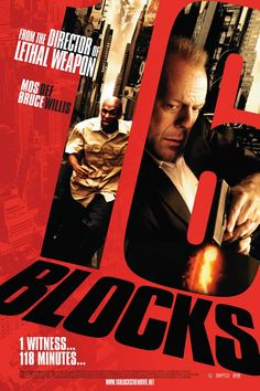 Bruce Willis and Yasiin Bey in 16 Blocks Mos Def, Bruce Willis, We Movie, About Time Movie, Cool Posters, Film Posters, Event Posters, Graphic Posters, Movies Worth Watching