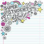 Super Student Sketchy Back to School Doodles Vector Illustration by Jess Volinski by blue67design