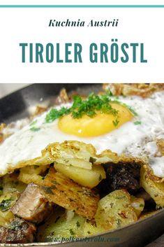 Mowa o typowo lokalnym daniu, które w większości restauracji występuje pod nazwą Tiroler Gröstl. To jeden z tutejszych klasyków, absolutnie godny polecenia. Sprawdzone! Mashed Potatoes, Ethnic Recipes, Food, Whipped Potatoes, Smash Potatoes, Essen, Meals, Yemek, Eten
