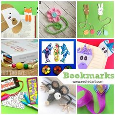 Creative DIY Bookmark Ideas