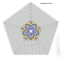 Ещё схемы треугольников плюс другое мозаикой (много фото) / Схемы / Бусинка