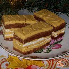 Karamellás-habcsókos szelet Recept képpel - Mindmegette.hu - Receptek Sweet Cookies, Hungarian Recipes, Sweet Life, Tiramisu, Cheesecake, Pie, Baking, Ethnic Recipes, Sweet Stuff