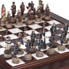 Japanese Samurai Chessmen  Alabastro Luxury Chess BoardCabinet from Italy ** Learn more by visiting the image link.