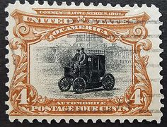 #U.s.stamp:scott#296, 4c, red brown, the #pan-american exposition #issues of 1901,  View more on the LINK: http://www.zeppy.io/product/gb/2/231842961169/