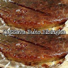 Loading... Cassava Buko Bibingka or ang iba ang tawag ay Cassava cake naman. Ito ay ginagamitan ng ginadgad na cassava or kamoteng kahoy sa tagalog. Sangkap: 2 cups grated cassava 1 cup young coconut (buko) strips 2 eggs 1 cup sugar ( I use 3/4 cup only) 3/4 cup evaporated milk 1/4 cup condensed milk… Continue reading Cassava Buko Bibingka (Tinagalog)