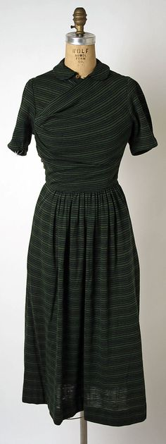 Ensemble  Claire McCardell  (American, 1905–1958)  Manufacturer: Townley Frocks (American) Date: 1946