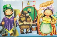 la-mazamorrera-del-25-de-mayo-de-1810-vendedores Princess Zelda, Diy Crafts, Christmas Ornaments, Holiday Decor, Painting, Fictional Characters, Drawings Of Bears, Drawing For Kids, City Streets