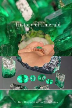 Learn more about the history of the emerald! Blog is live! Emerald Color, Emerald Isle, Emerald Gemstone, Natural Line, Lush Green, Gem S, Wedding Tips, Custom Jewelry, Green Colors
