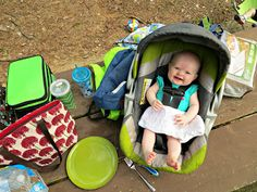 Camping with a baby in tow. Good blog