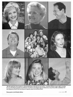 Here's the Story... - Death, HIV/AIDS, The Brady Bunch, Coping and Overcoming Illness, Where Are They Now?, Ann B. Davis, Barry Williams, Chris Knight, Eve Plumb, Florence Henderson, Maureen McCormick, Robert Reed, Susan Olsen : People.com