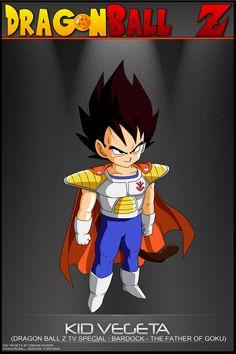 Dragon Ball Z - Kid Vegeta by DBCProject on DeviantArt