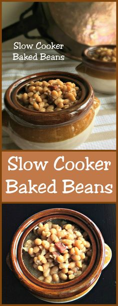 Slow Cooker Baked Beans ~ part of #FreakyFriday posts.