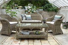 Zahradní nábytek, umělý ratan, umělý ratanový nábytek