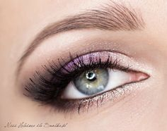 Great makeup for Brown eyes(: http://www.snobka.pl/artykul/makijaz-slubny-wrzos-i-srebro-16696