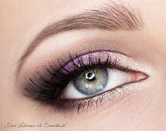 Great makeup for Brown eyes(: http://www.snobka.pl/artykul/makijaz-slubny-wrzos-i-srebro-16696