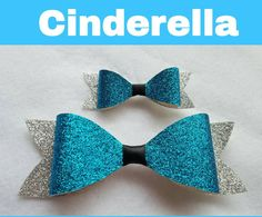 Check out this item in my Etsy shop https://www.etsy.com/listing/246117821/disney-inspired-cinderella-hair-bow