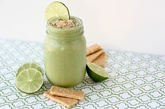 Key Lime Pie Smoothie - holy crap, yes! Even my notoriously anti-smoothie husband was all over this. Used honey instead of date for sweetener.