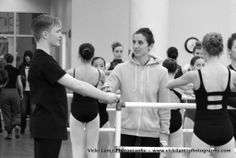 Allison DeBona teaching master classes for Ballet in Cleveland- March 2014.