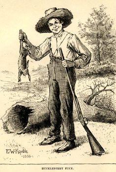 huckleberry finn research articles