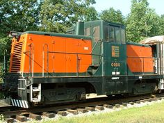 G.E. 44 ton diesel switcher was built in 1950 for the Long Island Railroad…