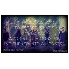 Monster Lyrics by Imagine Dragons