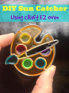 Craft EZ Oven is a kid-friendly oven makes it easy for children and parents to safely create various colorful crystal, clay, shrink and porcelain projects! [sponsored]