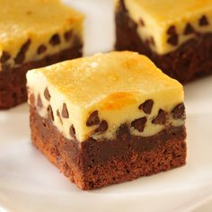 Cheesecake Topped Brownies; made these tonight and will try them tomorrow for Valentine's Day!