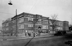 Roach Grade School Decatur Illinois Photo by Herald & Review