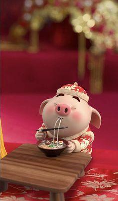 The year of pigs! Pig Wallpaper, Disney Wallpaper, Cartoon Wallpaper, Iphone Wallpaper, Pig Illustration, Illustrations, Cute Piglets, Pig Drawing, Pig Art