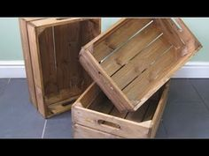 Storage Crates: Space for All Your Favorite Things — Tom Adams Furniture Wooden Crates For Sale, Vintage Wooden Crates, Wood Crates, Adams Furniture, Shipping Crates, Trunks And Chests, Crate Storage, Wooden Garden, Bricolage