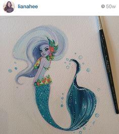LianaHee via Instagram Hawaiian Mermaid