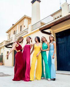 Outfit Graduacion, Bridesmaid Dresses, Wedding Dresses, Palazzo, Different Styles, Bbc, Jumpsuits, Fashion Dresses, Blouses