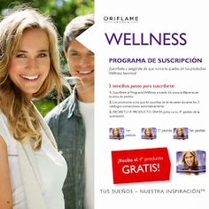 Programa de suscripción de Welness,lleva una vida saludable a la vez que ahorras. www.cosmeticamariluz.com