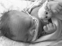 My love, my heart angel Corbin Walker. Corbin was diagnosed at 5 days old with life threatening heart defects. He had his first of three heart surgeries at 9 days old. For three months he fought his disease, winning over the hearts of the doctors and nurses at Ruby Memorial. The world cried the day he died, May 17th, two days before he would turn three months old. In honor of Heart Defect awareness week, Feb 7-14th, share Corbin's story. Let everyone know that he lived and he is still making a difference. There is a bill, Corbin's Bill, that will be introduced in the state of WV this year. If passed, every single newborn will be tested for heart defects before they leave the hospital. Lets help save lives.   thecorbinstory.blogspot.com  Follow the bill's progress on Twitter @PulseOxWv or @Ruth Caruthers