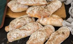 My Daily Bread, Yeast Bread, Bakery Recipes, Fika, Sweet Bread, Lchf, Crackers, Good Food, Food And Drink