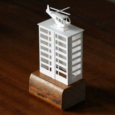 Charming Little Paper Buildings Brought To Life With Stop Motion Animation - DesignTAXI.com