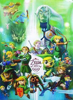 ゲーム「ゼルダの伝説」好きな方!