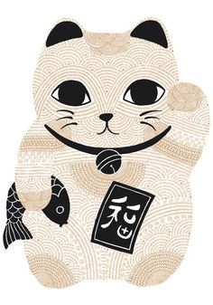 Lucky Gold Maneki Neko | scouteditions