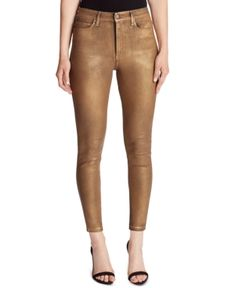Ella Moss Foiled High-rise Skinny Ankle Jeans In Sephia Rose Foil Skinny Ankle Jeans, Skinny Legs, Pants For Women, Jackets For Women, Girlfriend Jeans, Ella Moss, Juniors Jeans, Junior Outfits, Jeans Style