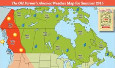 See our Summer Weather Forecast 2015 for Canada!
